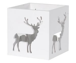 "Svícen ""Deer Wood"", 15 x 15 x 15 cm"