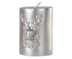 "Svíčka ""Silver Deer"", Ø 7, výš. 10 cm"