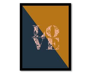 """Nástěnná dekorace """"Love"""", 40 x 30 cm"""
