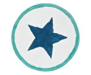 """Koupelnová předložka """"Stern Blue"""", Ø 70 cm"""