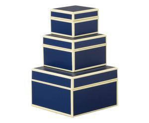 """Sada 3 krabiček  """"Ade Marine"""""""