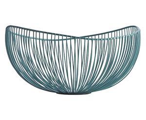 "Mísa ""Wire Green"", Ø 33, výš. 17 cm"