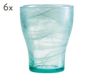 "Sada 6 sklenic ""Nordlys"", obj. 250 ml"