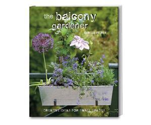 "Kniha ""The Balcony Gardener"", 19 x 24 cm"