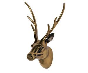 "Nástěnná dekorace ""Head Reindeer"", 47 x 23 x 31 cm"