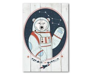 """Nástěnná dekorace """"Explore Universe"""", 40 x 3 x 60 cm"""