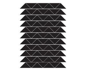 """Nástěnná samolepka """"Triangles"""", 30 x 42 cm"""