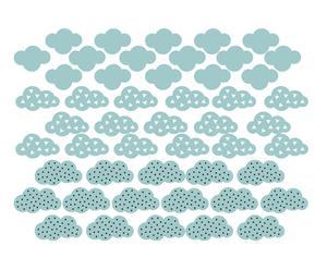 """Nástěnná samolepka """"Clouds"""", 30 x 42 cm"""