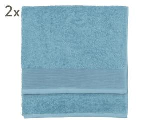 "Sada 2 ručníků ""Prestige Petrol I"", 70 x 140 cm"