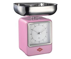 """Kuchyňská váha """"Oslo Pink"""", 15 x 13 x 27 cm"""