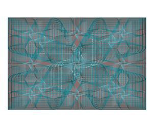 "Plastový koberec ""Gravity Azul"", 200 x 300 cm"