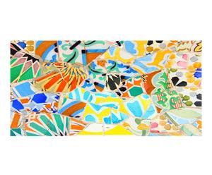 "Plastová předložka ""Trencadis Gaudi II"", 50 x 140 cm"