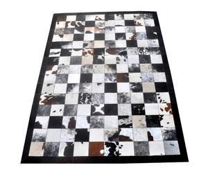 """Koberec z hovězí kůže """"Patchwork"""", 170 x 240 cm"""
