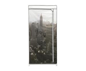 """Textilní skříň """"New York"""", 50 x 75 x 160 cm"""