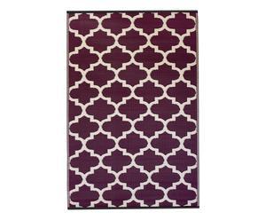 """Plastový koberec """"Tangier Plum"""", 90 x 150 cm"""