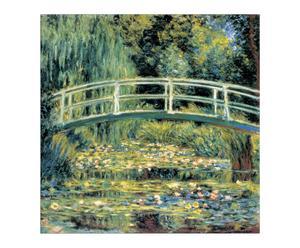 """Nástěnná dekorace """"Le Pont"""", 30 x 1,8 x 30 cm"""