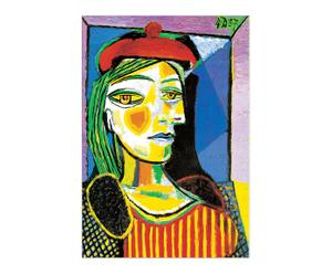 "Nástěnná dekorace ""Femme"", 44 x 1,8 x 65 cm"