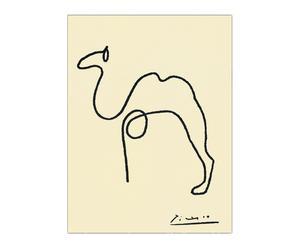 """Nástěnná dekorace """"The Camel"""", 24 x 1,8 x 32 cm"""