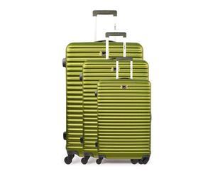 "Komplet 3 walizek ""Brazilia Green"""