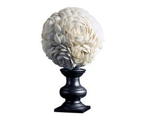 """Dekorace """"Flowers II"""", Ø 16, výš. 26 cm"""