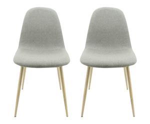 """Sada 2 židlí """"Scandi"""", 87 x 55 x 45 cm"""