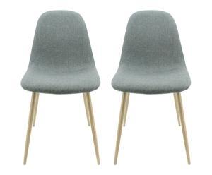 """Sada 2 židlí """"Scandi III"""", 87 x 55 x 45 cm"""