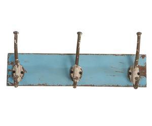 """Věšák """"Retro Blue"""", 11 x 38 x 14 cm"""