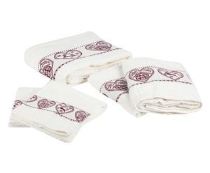 """Sada 5 ručníků """"Tirolo I"""""""