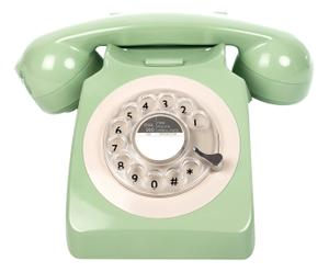 """Telefon """"Rotary Mint"""", 16 x 27 x 22.5 cm"""