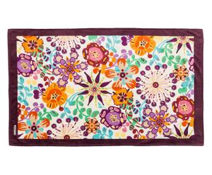 "Plážová osuška ""Flowers Violet"", 100 x 170 cm"