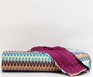 """Přehoz přes postel """"Norah Turquoise"""", 180 x 270 cm"""