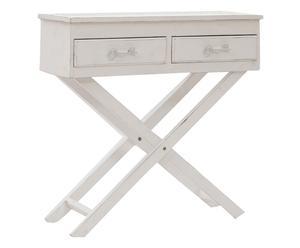 "Konzolový stolek ""Shabby"", 32 x 82 x 80 cm"