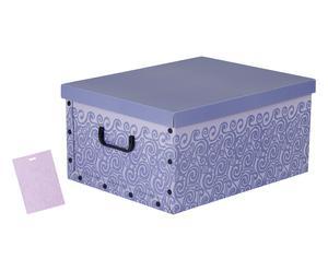 """Úložný box """"Profumato Lilla"""", 40 x 50 x 25 cm"""