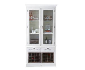 "Vitrína se skříňkou na víno ""La Cucina"", 115 x 221 cm"