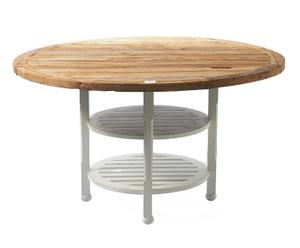 "Stůl ""Pearlington"", Ø 140, výš. 80 cm"