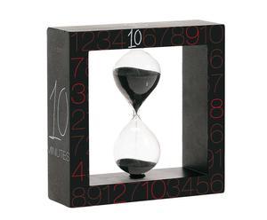 """Přesýpací hodiny """"Si-Time II"""", 13 x 13 x 4 cm"""