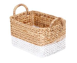 """Košík z vodního hyacintu """"Pola\'a I"""""""