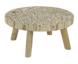 """Konferenční stolek """"Haldan"""", Ø 80, výš. 40 cm"""