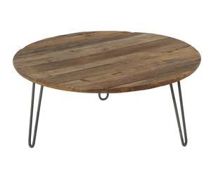 """Konferenční stolek """"Emmet"""", Ø 80, výš. 35 cm"""