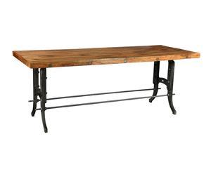 """Stůl """"Industrial"""", 80 x 84 x 210 cm"""