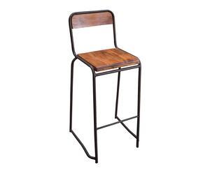 "Barová židle ""Ramon"", 43 x 45 x 100 cm"