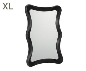 """Nástěnné zrcadlo """"Bloom Black"""", 5 x 63 x 103 cm"""