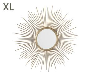 """Dekorativní zrcadlo """"Sun Gold"""", Ø 88, tl. 8 cm"""