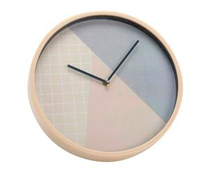 """Nástěnné hodiny """"Triangle Scandi"""", Ø 30, tl. 4 cm"""