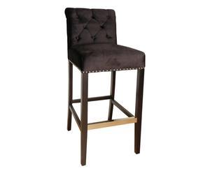 "Barová židle ""Trocadero Black"", 63 x 49 x 108 cm"