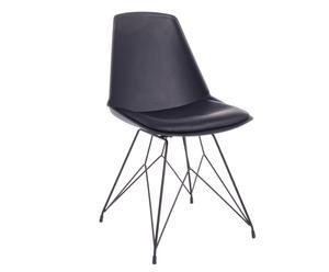 "Židle ""Clark Black"", 48 x 50 x 86 cm"