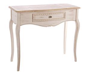 "Konzolový stolek se zrcadlem ""Clarisse II"", 40 x 90 x 80 cm"