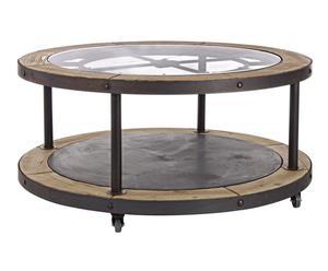 """Konferenční stolek """"Timeless II"""", Ø 100, výš. 47 cm"""
