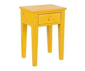 """Noční stolek """"Margot Yellow"""", 30  x 40 x 57 cm"""