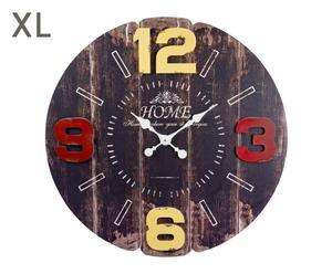 """Hodiny """"Hour I"""", Ø 80, tl. 5 cm"""